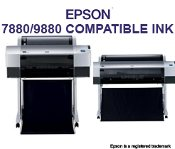 Epson 7880/9880 Compatible Cartridges