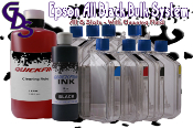Epson All Black Bulk System with Cleaning Fluid